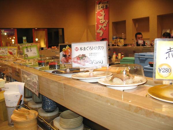 настоящие японские суши