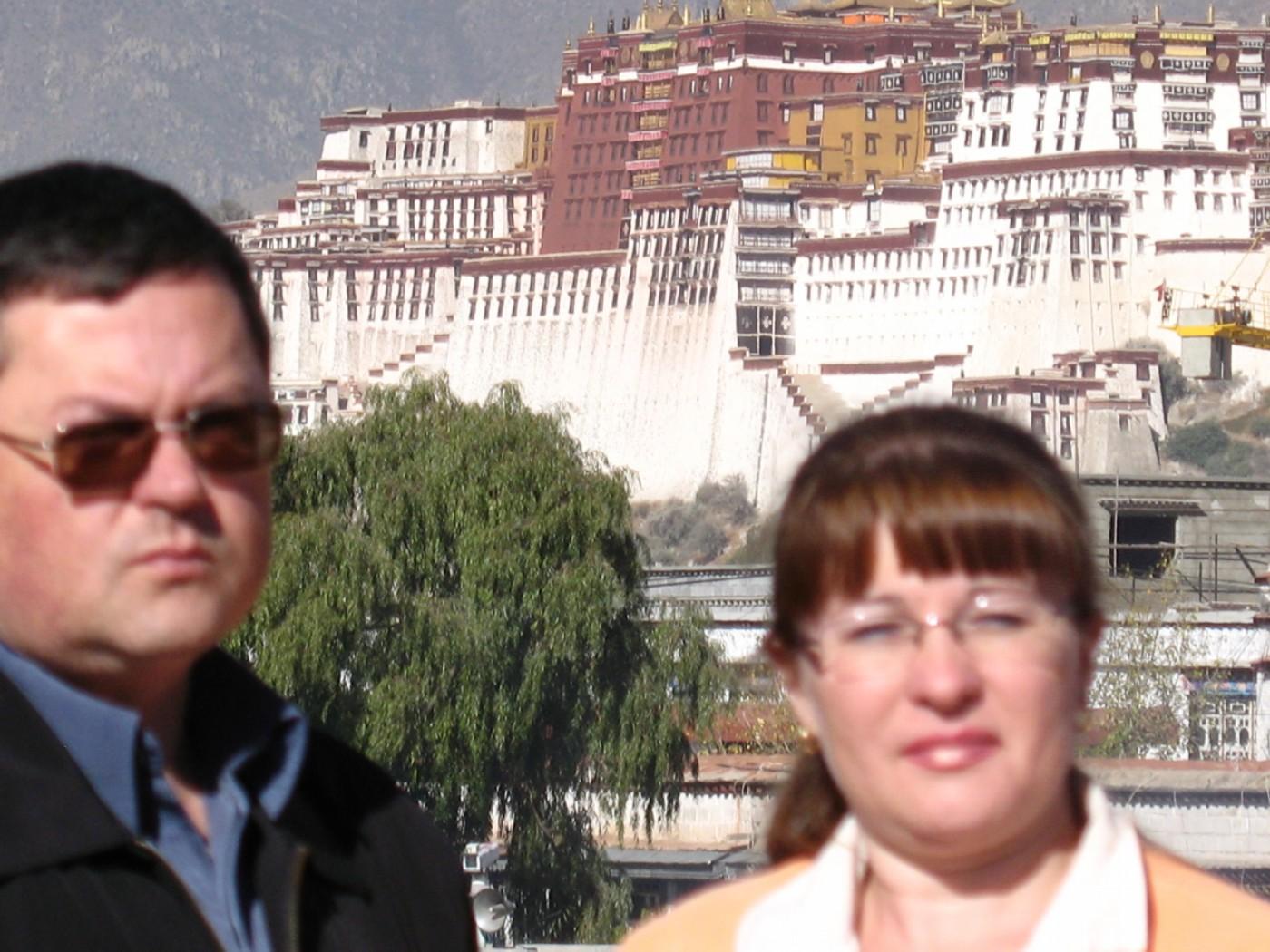 Тибет. Дворец Потала