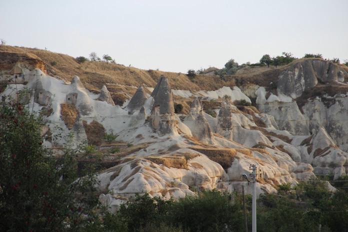 каменные грибы походи на индуистские лингамы