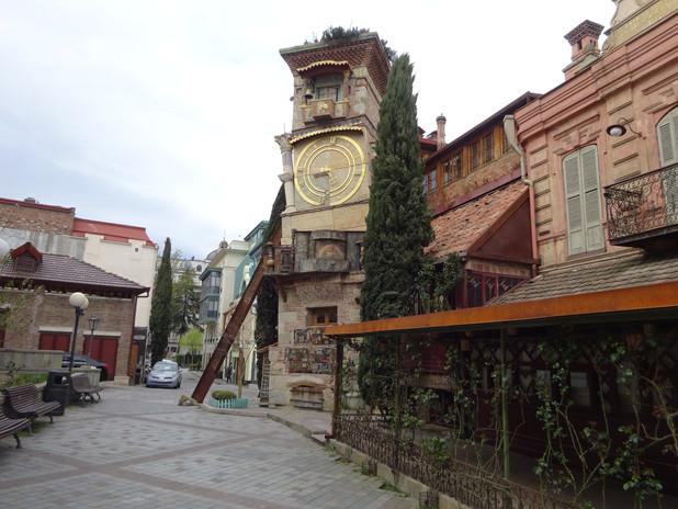 отреставрированный старый Тбилиси