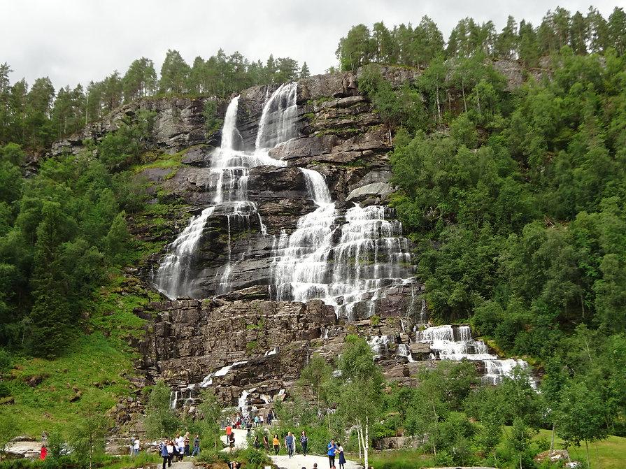 стейндальский водопад