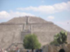 пирамида солнца в мексике