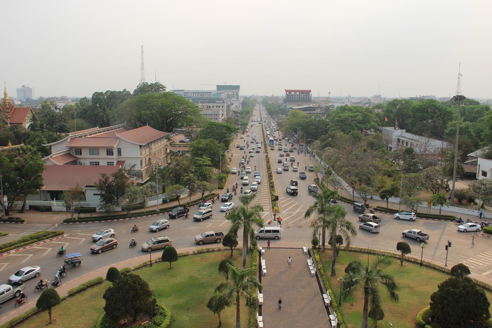 вьентьян, центр города