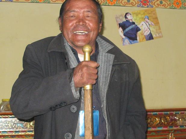 житель Лхасы