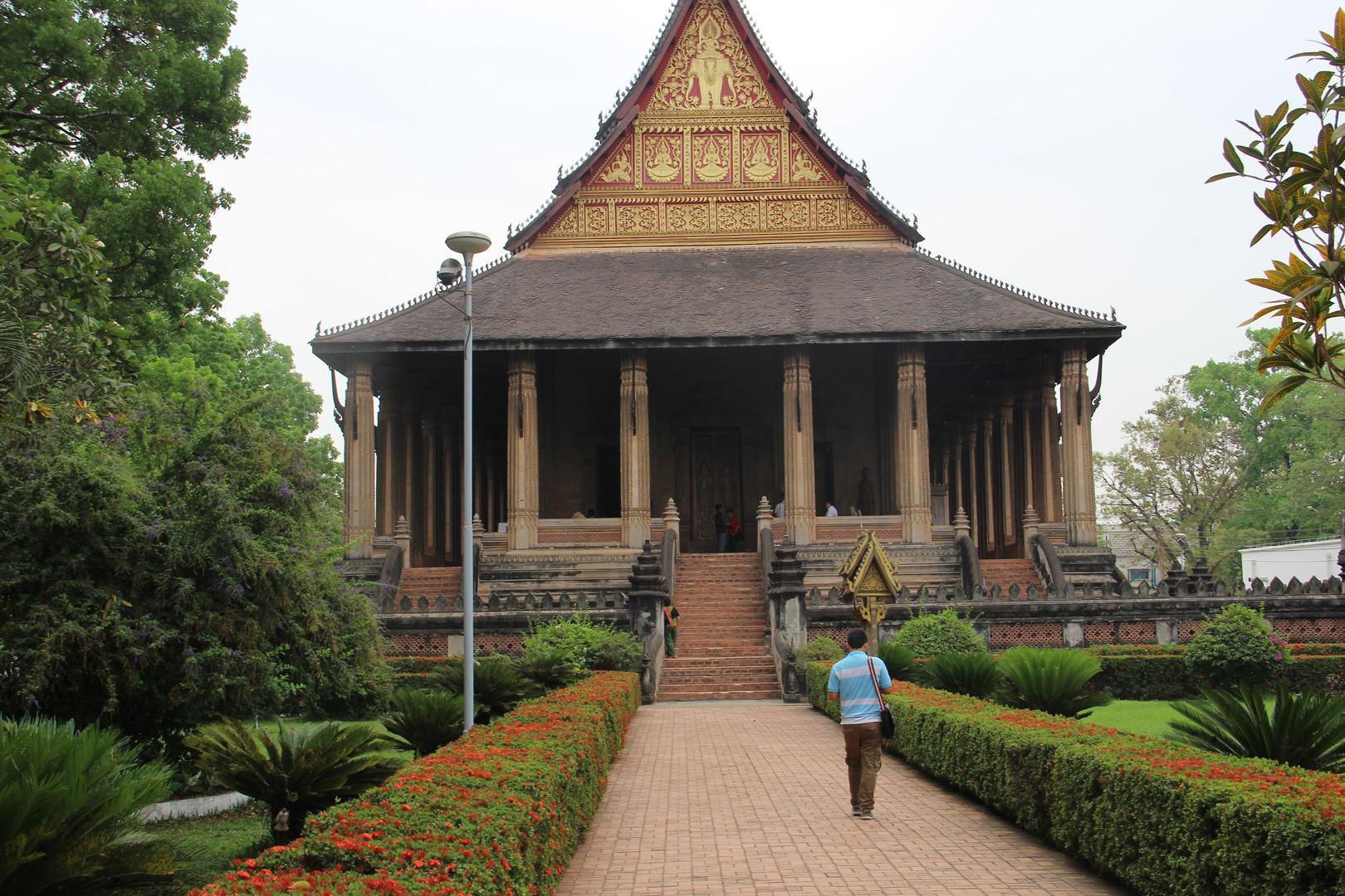 храм во Вьентьяне