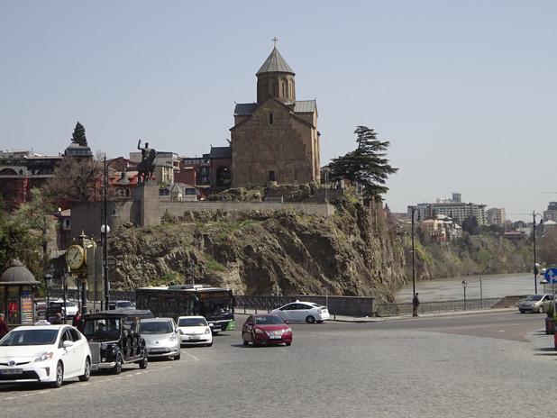 обустроенный исторический центр Тбилиси