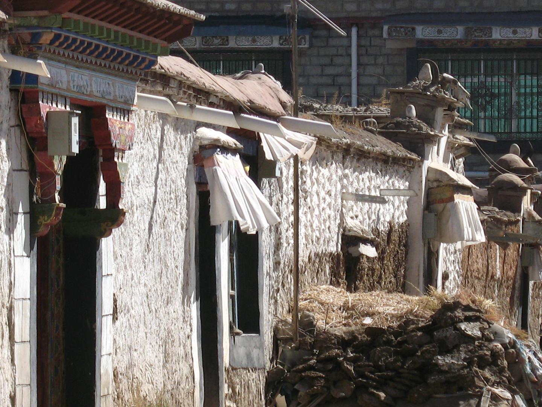 дом в тибете