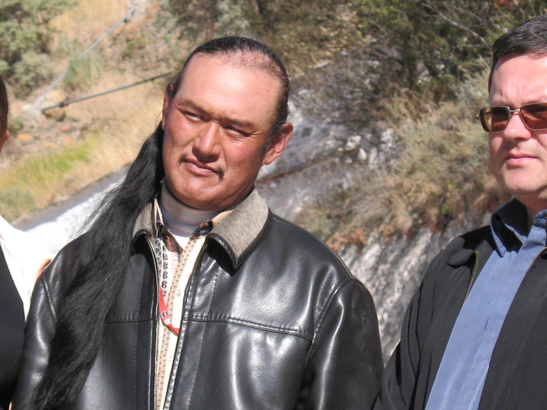 тибетец и я