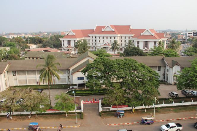 правительственный квартал  в Лаосе