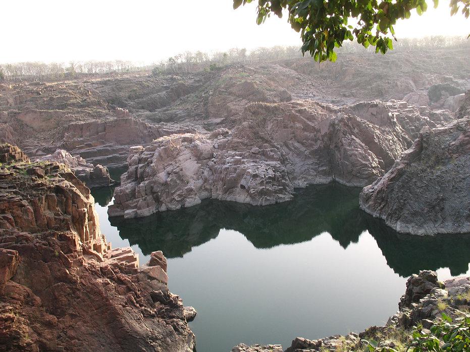 каньон близ каджурахо