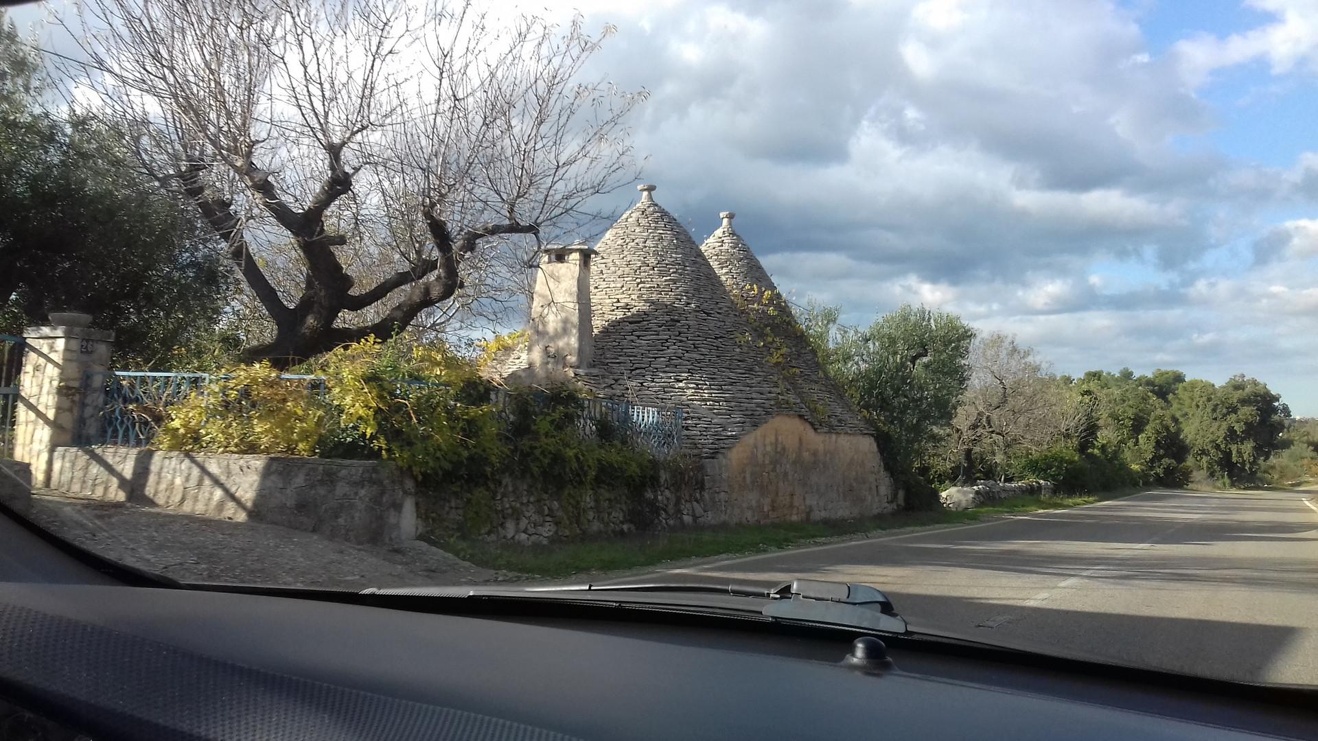 дорога на Альберобелло