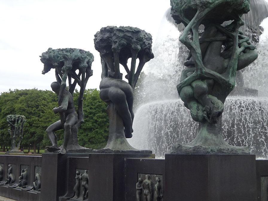 скульптуры вигеланда