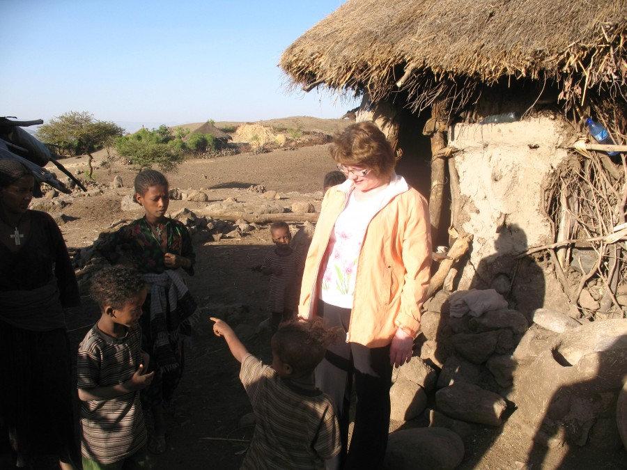 на хуторе в Эфиопии