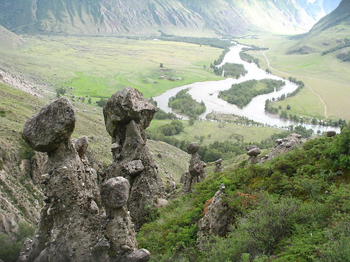 каменные грибы на чулышмане