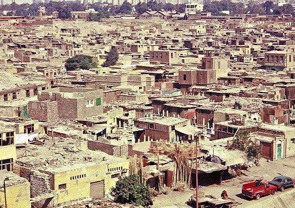 город мертвых в Каире