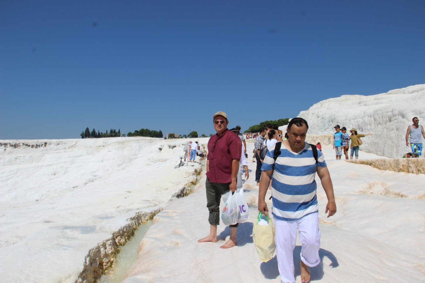 турция, памук-кале