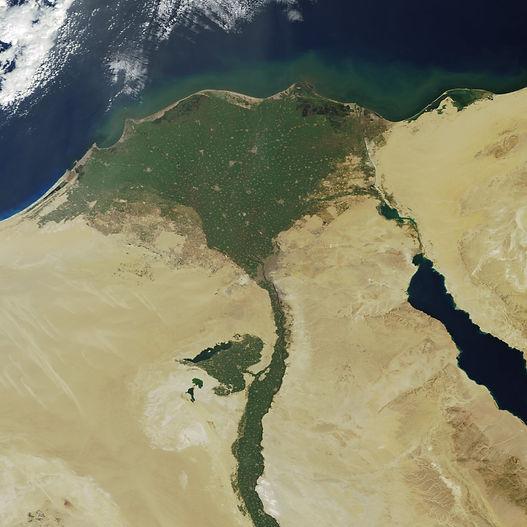 долина Нила и остальной Египет