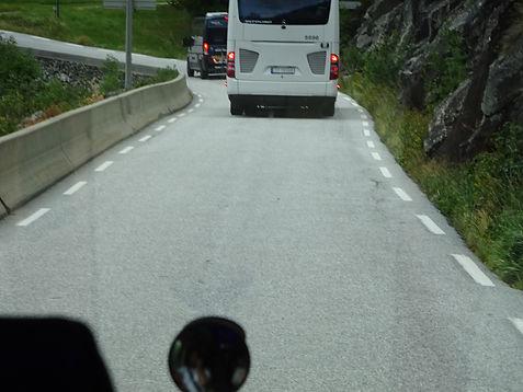 шоссе в одну полосу