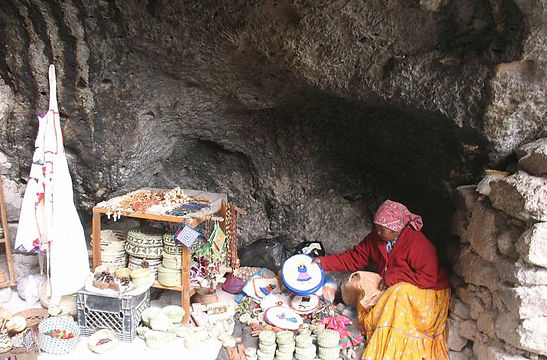пещера индейцев