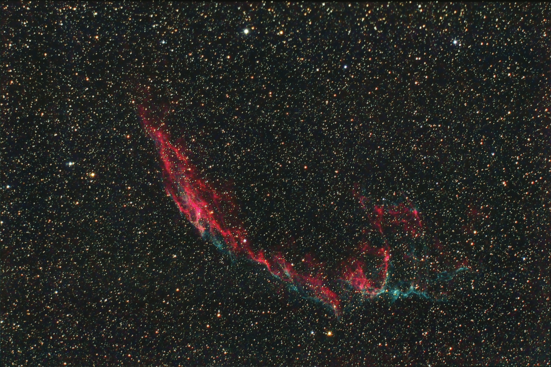 NGC6992_Nebuleuse du voile