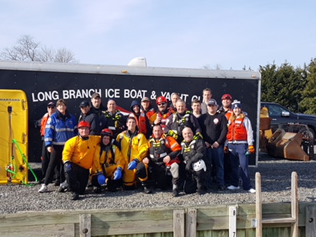ATLANTIC HIGHLANDS FIRE DEPARTMENT AND ATLANTIC HIGHLANDS FIRST AID SQUAD JOINT ICE RESCUE TEAM TRAI