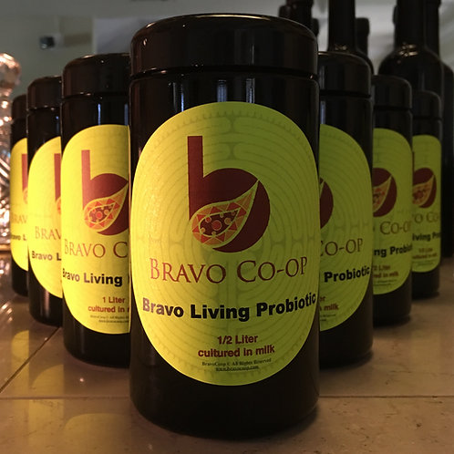 Prepared Bravo Probiotic Yogurt