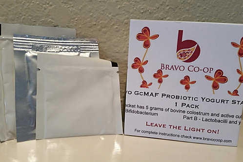 Bravo GcMAF Probiotic Starter Kit Stock Order 1 pack - Order by 4/29/18