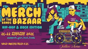 Fallen Arise - Merch of the Bands Bazaar 2021
