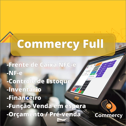Software Commercy Full (Plano Anual)