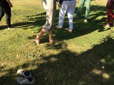 """""""War gestern spät noch im Wald spazieren - meine Füße """"rollten"""" aus sich heraus drauf los, als ob sie Räder wären - die Gelenke waren flexibler - war ein tolles Gefühl!""""  Christian S., Homöopath"""