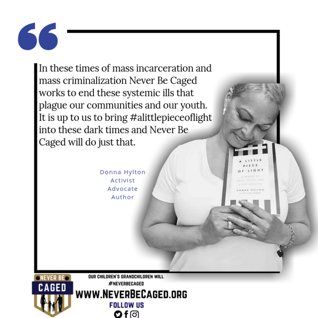 Donna Hylton Never Be Caged