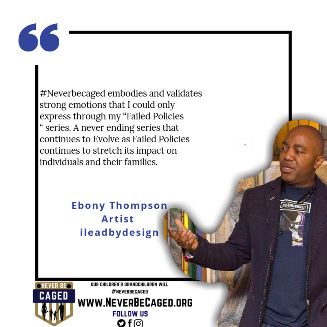Ebony Thompson I lead By Design Never Be Caged