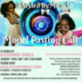 Styled By Miracle Model Casting Call