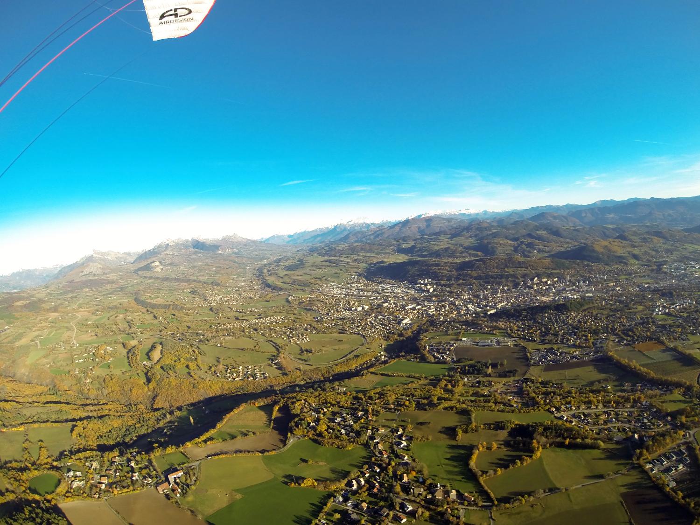 Gap vue du ciel