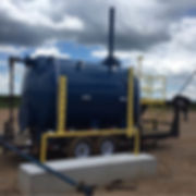 Tanks, Vessel, Gas Buster, Custom Fabraction