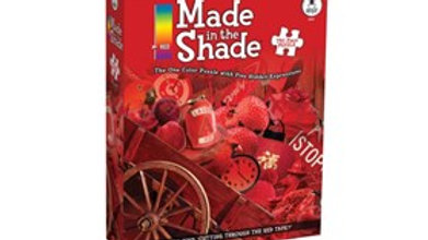 Puzzle 750 piece Made In Shade Cutting Red Tape