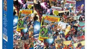 Puzzle 1000 pieces Marvel Avengers Collage
