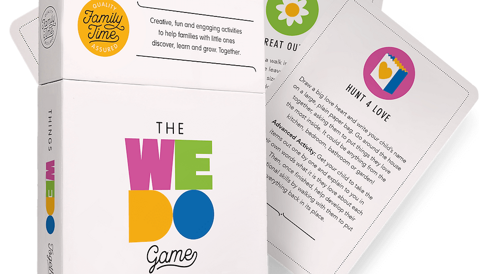 The WeDo Game – Toddler Edition