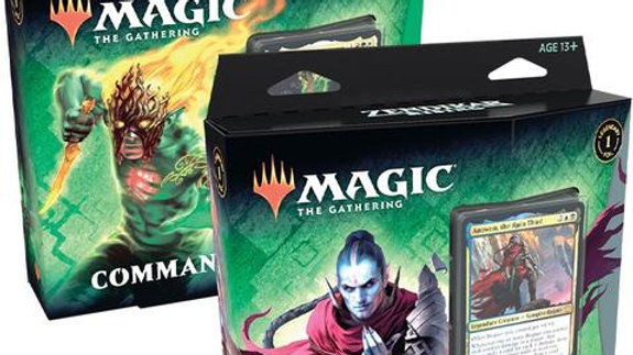 Magic the Gathering Zendikar Rising Commander Decks