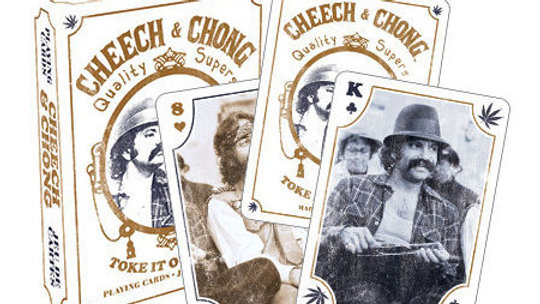 Playing Cards Cheech and Chong