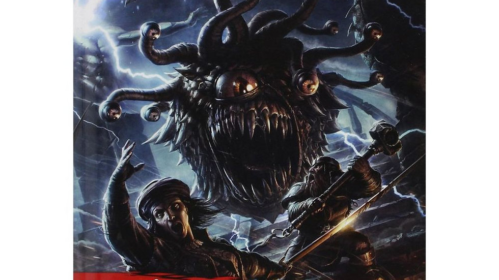 D and D Monster Manual
