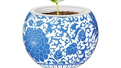 Puzzle 80 piece Flowerpot Oriental Flower