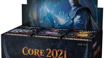 Magic the Gathering Draft Booster box core set 2021