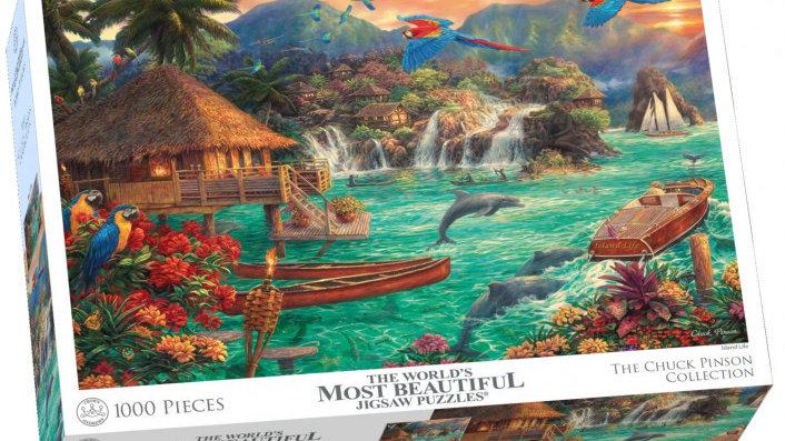 Puzzle 1000 pieces Chuck Pinson Island Life
