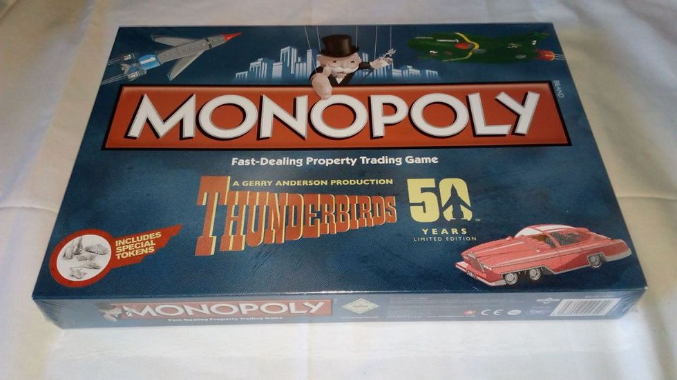Monopoly Thunderbirds Retro
