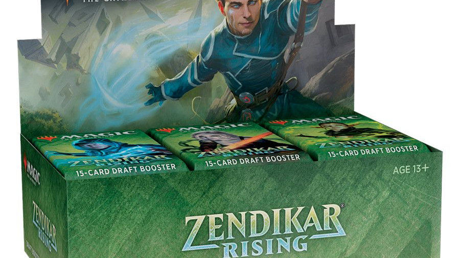 Magic Zendikar Rising Draft Booster