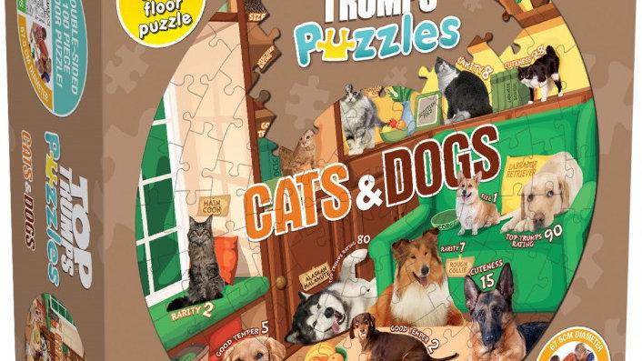 Top Trumps Puzzle Cats & Dogs Puzzle 100 pieces