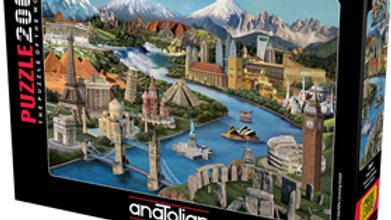 Puzzle 2000 piece Popular Landmarks