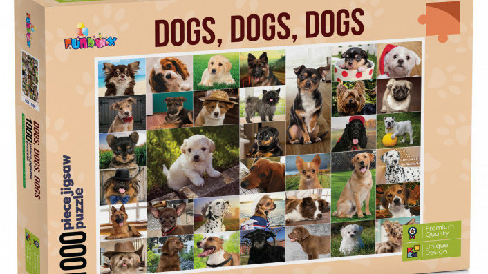 Puzzle 1000 piece Dogs Dogs Dogs