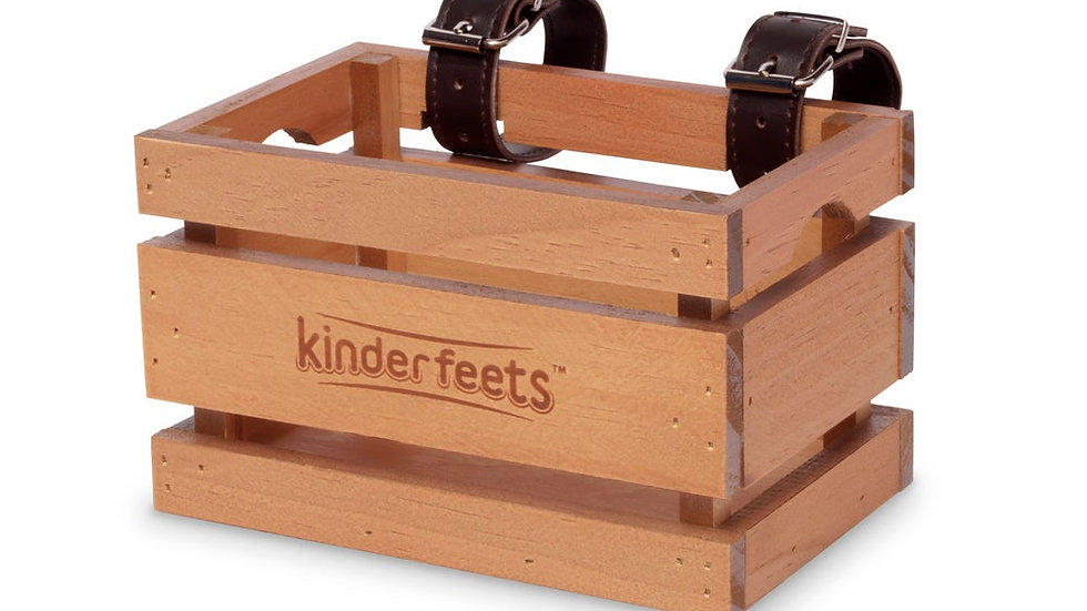 Wooden bike crate Kinderfeets